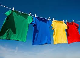 Как правильно сушить белье?