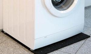 Напольное покрытие под стиральную машинку