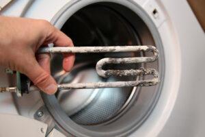 Не греет воду стиралка
