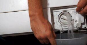 Засорился слив стиральной машины